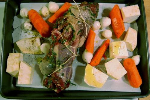 lamb-tied