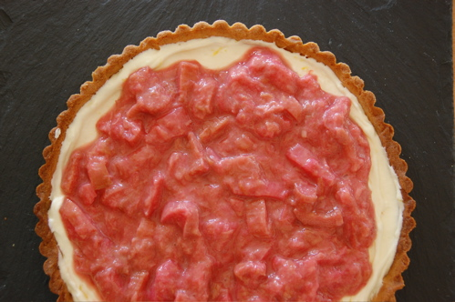 rhubarb tart 1